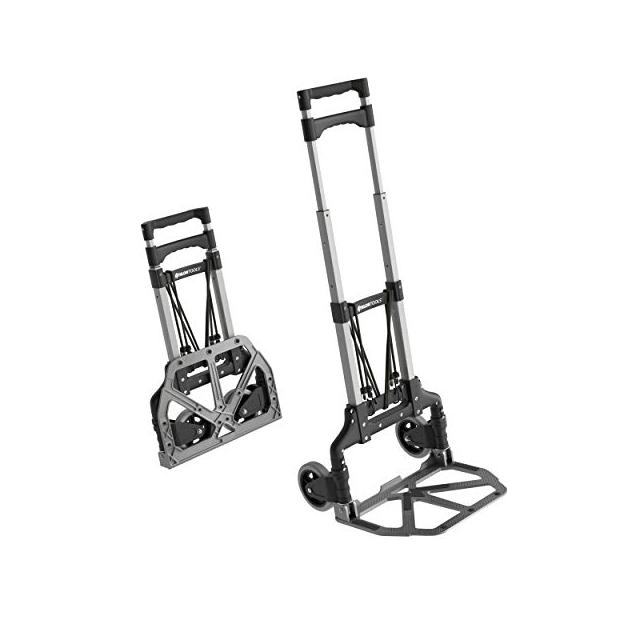Carretilla de Carga para Escaleras Profesional Carro de Escalera 3 Ruedas 220LBS